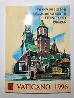 1996 Vaticano Libro Folder Album Ufficiale Completo Yearbook Vatican Complete