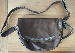 Nancybird Brown Leather Bag Excellent Condition