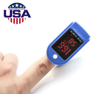 Fingertip Pulse Oximeter Blood Oxygen SPO2 Pulse Rate Monitor Heart Beat Monitor