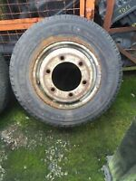 MERCEDES-BENZ T1 410 409 TWIN WHEEL AND TYRE 185R14C