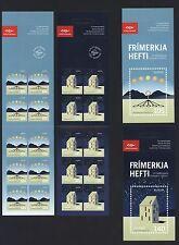 Island 2009 - Europa CEPT Astronomie 1244-45 Markenhefte postfrisch booklets MNH