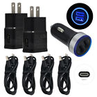 For LG Stylo 6 5 G8 G7 V60 V50 ThinQ Car Wall Adapter Phone Charger USB C Cable