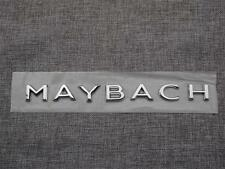 """Chrome """" MAYBACH """" Letters Trunk Badge Emblem Sticker for Mercedes Benz MAYBACH"""