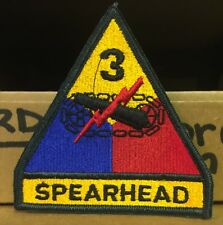 3rd Armored Division Patch  - Color - Pack of 20