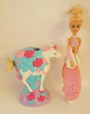2004 SKY DANCER SPINNING FAIRY ANGELICA WITH UNICORN DOVE LAUNCHER Working