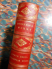 DICKENS, Charles. The Mystery of Ewin Drood & Xmas Books [1870] - Fine binding.