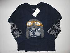 NEW Baby Gap 2011 Aviator Dog Shirt Size 2 Years NWT