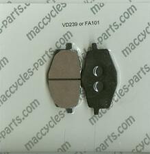 Malaguti Disc Brake Pads Centro 160ie 2008-2014 Rear (1 set)