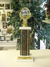 AWESOME EUCHRE CARDS CARD TROPHY AWARD FREE ENGRAVING