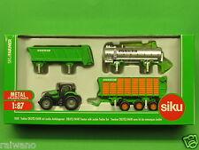 1:87 Siku Farmer 1848 Traktor Deutz mit Joskin Anhängerset Blitzversand per DHL