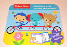 Fisher Price Coloriage & Activité Sets De Table Pad Repas Temps Table Play 30+ Perf Sh