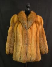 Vintage Shillito Rikes Natural Red Fox Fur Coat