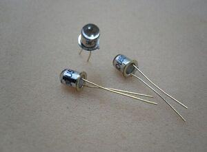 10 pcs 3DU5C Metal Package Silicon Phototransistor NPN Transistor Triode [159A]