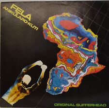 """FELA ANIKULAPO KUTI - ORIGINALE SUFFERHEAD 12"""" LP (W 720)"""