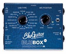 BLUGUITAR blubox IR Virtual Speaker Cabinet Emulatore - 16 Classic Speaker cabine.