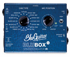BluGuitar BluBOX IR Virtual Speaker Cabinet Emulator - 16 Classic Speaker Cabs.