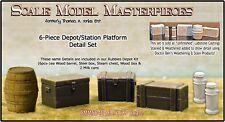 Depot/Station Platform Detail Scale Model Masterpieces/Yorke HO Fine Craftsman