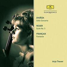 Anja Thauer - Dvorak: Cello Concerto / Reger: Suite / Francaix [New CD] Australi