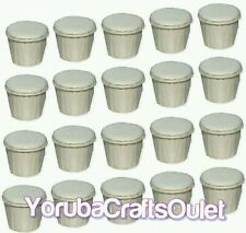 CASCARILLA LOT OF 24 1/2 oz. CUPS EGG SHELL POWDER Cleansing Ifa Yoruba Santeria