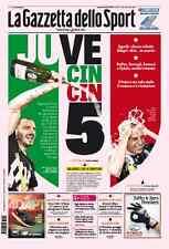 GAZZETTA DELLO SPORT 26/04/2016 JUVENTUS CAMPIONE D'ITALIA SCUDETTO N°34 JUVE