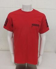 Kanye West Yeezus Red Cotton T-Shirt Men's Large Excellent Fast Shipping Look