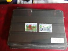 timbre suisse europa ** neuf n 1274/5  1987