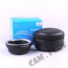 Camera Adapter For Pentax 645 Lens to Canon EOS 7D Mark II 5DIII 600D  650D 300D