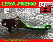 Kawasaki Kx250f KX 450f 13-14 Leva freno antirottura pieghevole anodizzato Verde