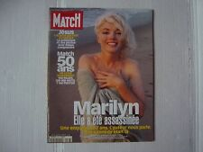 MARILYN MONROE rare  Paris Match cover magazine George Barris
