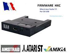 ATARI ST / AMSTRAD CPC / AMIGA Emulateur Lecteur De Disquette Gotek-HxC - USB