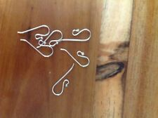 300 x 925 Sterling Silver Earring Hooks, 21 Gauge, 150 pair