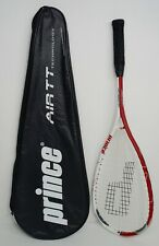 Prince Air Drive 140 Air TT Triple Threat Power Scoop Squash Racquet with Cover