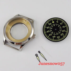 Steel Watch Case Luminous Sterile Dial for MIYOTA 8215 ETA 2836 DG Mingzhu 2813