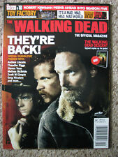 The Walking Dead Official Magazine #10 Chandler Riggs Andrew Lincoln M Cudlitz