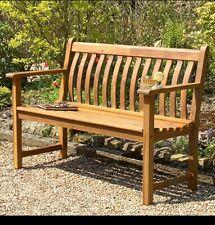 More details for hardwood garden bench by alexander rose,4ft