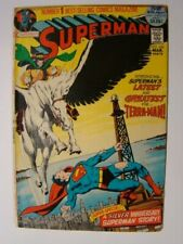 1972 Superman #249 Neal Adams Cover Art 52 Pages VG