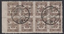 CHINA PRC, 1949. Liberated Central China CC137 Block 8, Used