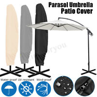 Parasol Banana Umbrella Dust Cover Cantilever Outdoor Garden Patio Waterproof