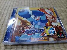 Rockman X5 Magaman x5 PS1 Sony PlayStation 1 Tested Work 3