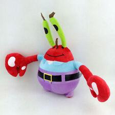 "Mr. Eugene H. Krabs SpongeBob Squarepants Crab Plush Toy Stuffed Animal New 8"""