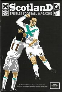 SCOTLAND EPISTLES FOOTBALL MAGAZINE #7 - TARTAN ARMY FANZINE / MAGAZINE