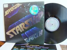 Jefferson - Starship Earth FL 12515 UK LP  1st Press 1978 Grunt  Grace Slick