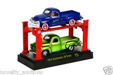 E55 M2 33000 R10 MACHINE AUTO-LIFT 2 PACK 1954 STUDEBAKER 3R TRUCKS