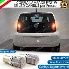 COPPIA LAMPADE PY21W BAU15S CANBUS 35 LED VW UP FRECCE POSTERIORI NO AVARIA LUCI