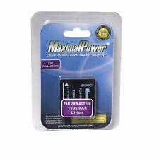 For PANASONIC DMW-BCF10E Camera Battery Lumix DMC-FX60 DMC-FX65 DMC-FX700 FX500