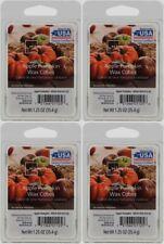 4 Lot ScentSationals 2.5 oz Apple Pumpkin Scented Wax Melts Cubes Tarts - New