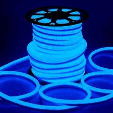 DELight® 150' FT Blue LED Neon Rope Light Flex Tube Sign In/Outdoor Lighting110V