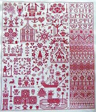 10% Off Long Dog Samplers Counted X-stitch chart - Bois le Duc