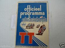 1964 DUTCH TT ASSEN PROGRAMME GRAND PRIX MOTO GP,RENNPROGRAMM,D