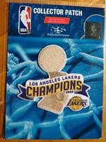 NBA Los Angeles Lakers 2020 NBA Championship Trophy Patch #2